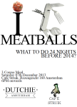 Poster Meatballs